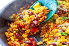 Рецепт рагу из овощей по-мексиканки