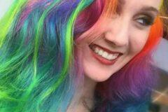 Окрашивания волос в необычном стили выбор большинства женщин