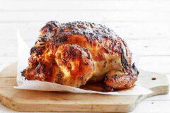 К застолью: экстра – курица в духовке, рецепт.