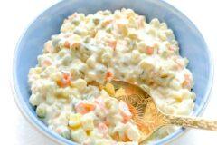 К застолью: салат экстра – оливье, рецепт.