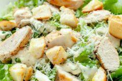 Салат, цезарь с цыпленка, рецепт.