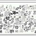 Тест: Найдите на картинке цифры от 1 до 90 в последовательном порядке, и узнайте свою оценку по математике.