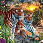 Тест на зрение. Количество тигров увиденных на картинке, выдадут ваши отношения!