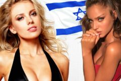 Самые красивые женщины Израиля.