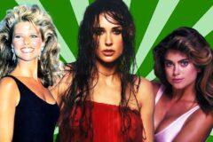 Самые красивые знаменитости 80-х годов
