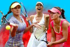 Рейтинг девушек теннисисток которые стали известными во всем мире