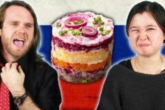 Самая вкусная русская еда которая удивляет иностранцев